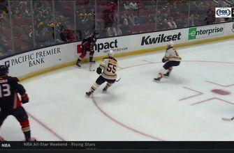 HIGHLIGHTS: Ducks unable to find back of the net in 3-0 loss to Bruins