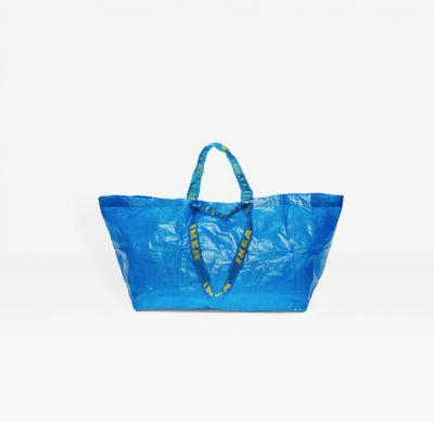 Ikea publishes checklist to discern it's big blue bag from that Balenciaga one