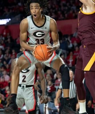 No. 20 Sun Devils rally from 18 down to beat Georgia 76-74
