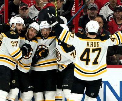 Bruins sweep away Hurricanes to reach Stanley Cup Final