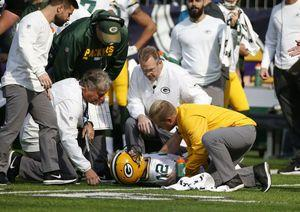 Packers: Rodgers could miss rest of season with collarbone