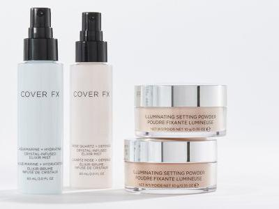 Cover FX's New Facial Mists & Powder Will Change The Way You Set Your Skin Forever - EXCLUSIVE