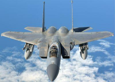 US F-15 jet shoots down pro-Syrian drone that fired at coalition forces