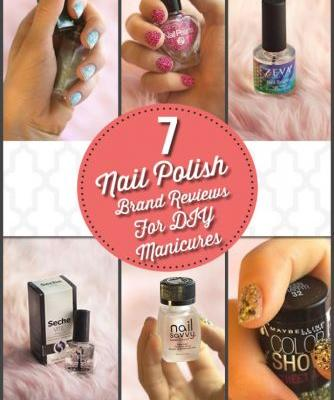 7 Nail Polish Brand Reviews for DIY Manicures