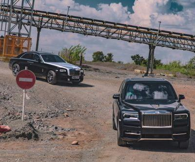 Rolls-Royce Cullinan Delivered At The Cullinan Mine in South Africa