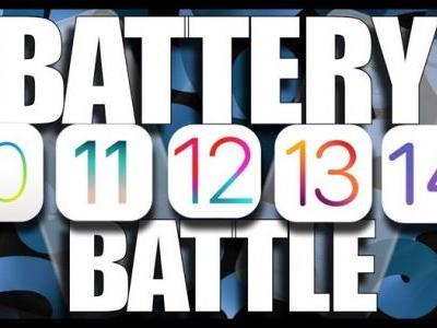 IOS 14 battery life tested against iOS 13, iOS 12, iOS 11 and iOS 10