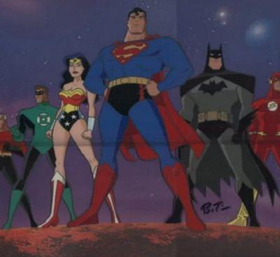 Is this really the original lineup for the Justice League animated show?