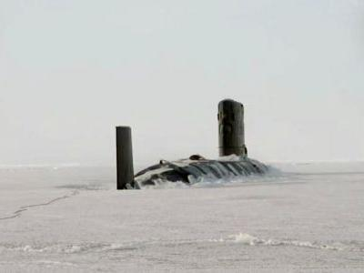 U.S. nuclear sub challenges Russia in the Arctic