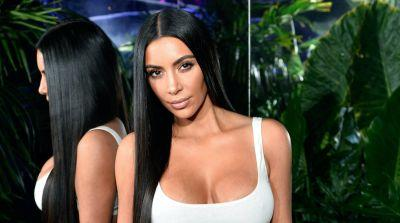 Kim Kardashian Literally Glows in a Sparkling See-Through Jumpsuit - and We Are Officially Mesmerized