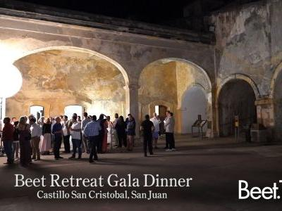 A Tasty Finale: Puerto Rico's Top Chef Cooks for the Beet Retreat Gala Dinner and Fundraiser