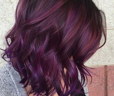 Blackberry Hair Is Trending Big Time on Pinterest