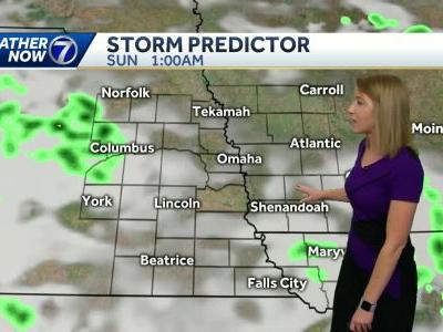 Widespread rain early, followed by scattered storms through the weekend