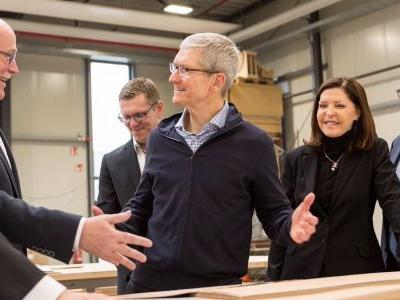 Here's the full email Tim Cook sent to Apple employees announcing bonuses & new charity donation matching