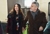 Amal Clooney Bundled Up in a Low-Key Ensemble at the March For Our Lives