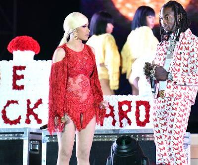 Festival claims it didn't know Offset would crash Cardi B performance