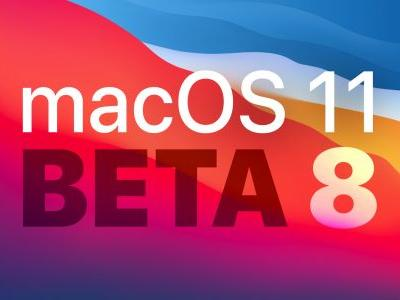 Apple Releases Eighth Beta of macOS Big Sur to Developers