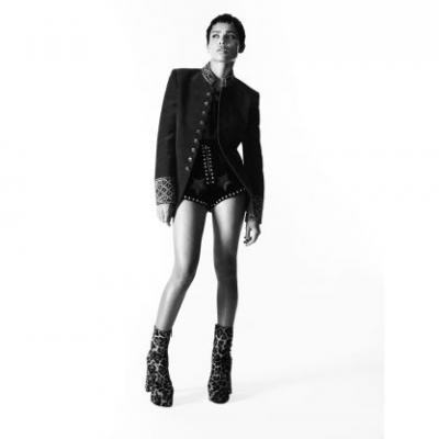 Zoe Kravitz Stars In The New Saint Laurent Campaign