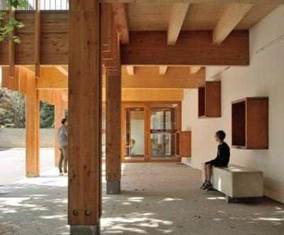 Nursery School at Roches de Condrieu / Brenas Doucerain Architectes