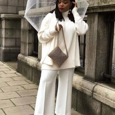 15 All-White Winter Outfits That Are Anything But Boring