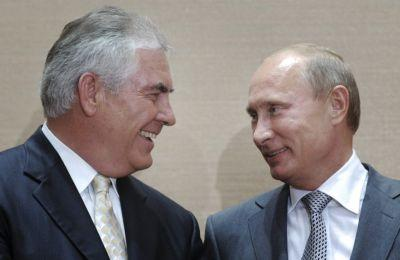 Treasury fines Exxon for Russian dealings while Tillerson was CEO