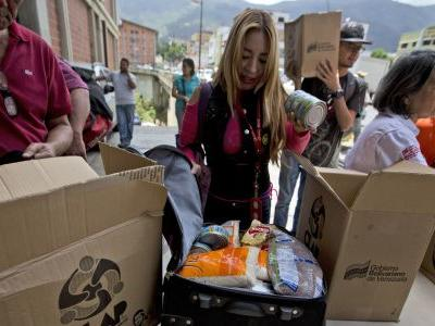 As Venezuelans go hungry, Trump targets food corruption