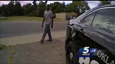 'You think it's a joke?' Police body cam captures moments before deadly shooting