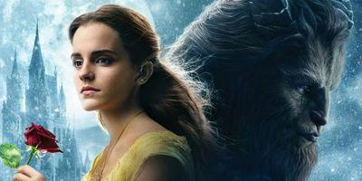 Beauty and the Beast International Poster Enters an Enchanted Castle
