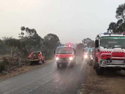 Rainfall will potentially bring fire-ravaged Australia much-needed relief