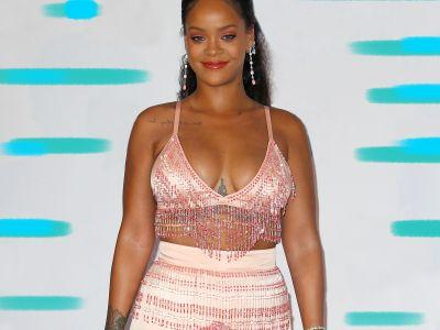 Rihanna Wore A Sequin Bikini & Set Of Wings - & We're Not Worthy