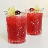 A Fall-Ready Cranberry Margarita