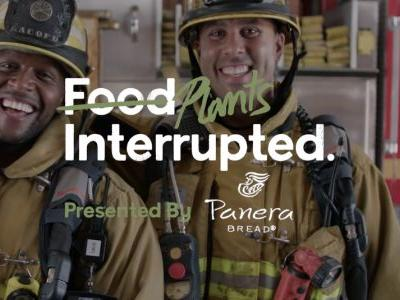 "Kevin Curry and Rip Esselstyn celebrate Meatless Monday in Panera Bread's ""Food Interrupted"" series"
