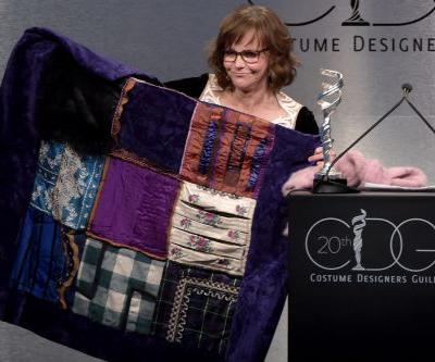 Sally Field busts out old outfits at costume guild awards
