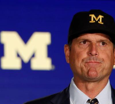 Jim Harbaugh fires back at Cincinnati's Luke Fickell over James Hudson transfer situation