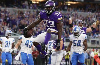 Vikings rookie Dalvin Cook leaning on teammates during ACL recovery