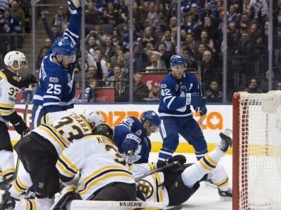 Patrick Marleau scores in overtime, Leafs take first meeting with Boston