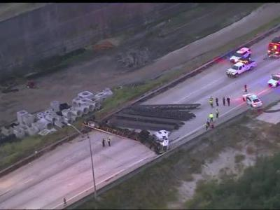 Crash involving semi blocks I-4 near OBT