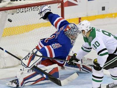 Stars stop 3-game slide with shootout win over Rangers