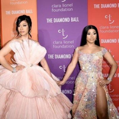 Stunning sisters Cardi B and Hennessy Carolina attend the 5th