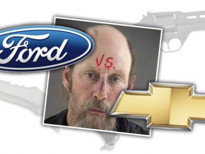 Ford vs. Chevy Debate Finally Settled with Knives and Guns