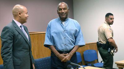 O.J. Simpson granted parole by Nevada Board of Prisons