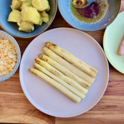 White Asparagus - A Dutch Ritual