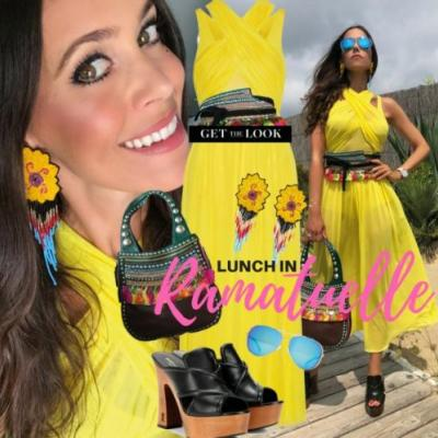My Look: Lunch in Ramatuelle