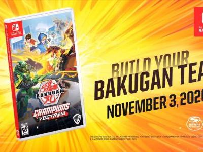 WayForward Title Revealed As Switch Exclusive Bakugan RPG Champions of Vestroia