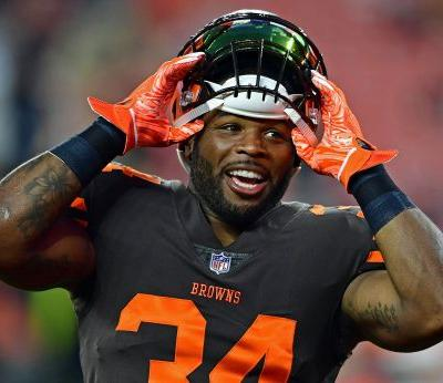 Did Cleveland Browns running back Carlos Hyde just have the best 24 hours ever?
