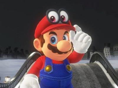 Super Mario Odyssey Sells an Estimated 2.15 Million Units First Week at Retail