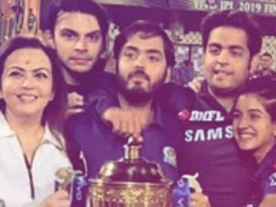 Nita Ambani to son Akash: Mumbai Indians IPL win best Mother's Day gift for me