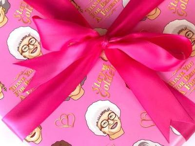 Wrap All Your BFF's Gifts With This Golden Girls Wrapping Paper