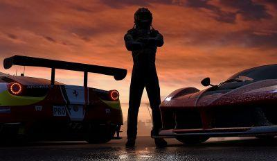 Forza 7's 4K assets are limited to Xbox One X only, along with massive 100GB download