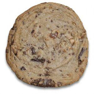It's hard to believe restaurants sell these supersized cookies
