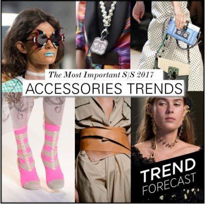 Most Important S/S 2017 Accessories Trends